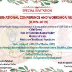 ICWN-2019 Nepal countdown begins